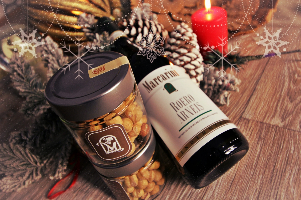 GIVE THE GIFT OF HAZELNUTS, HONEY, AND WINE THIS CHRISTMAS